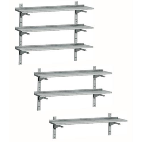 Wall Mounted Stainless Steel Shelves Inomak