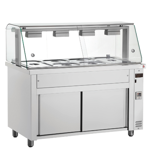 Heated Cupboard - Επιδαπέδια Bain Marie | Inomak